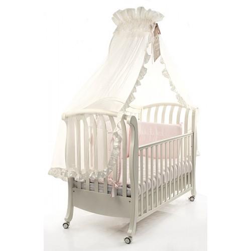 Кровать Divina (Бамболина Дивина) 125*65см белый Bambolina