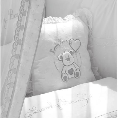 Подушечка Lovely Bear (Фиореллино Лавли Бир) 40*40см белый Fiorellino