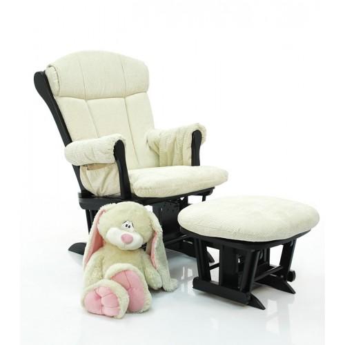 Кресло-качалка для кормления Rose GC75 Espresso(Espresso/cream) Tutti Bambini