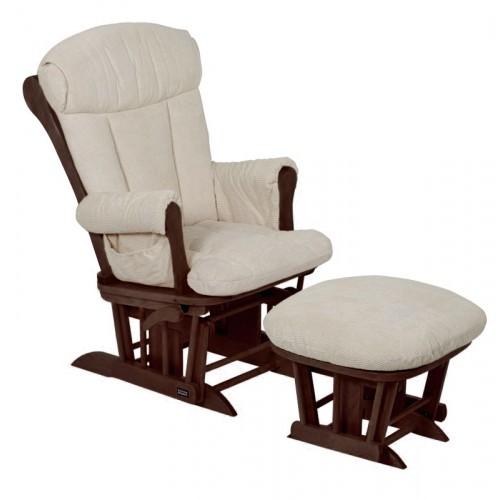 Кресло-качалка для кормления Rose GC75(Walnut/Cream) Tutti Bambini
