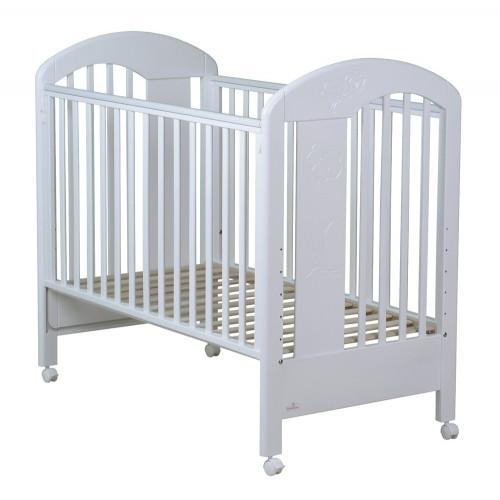 Кровать Fiore (Фиореллино Фиоре) 120*60 white Fiorellino