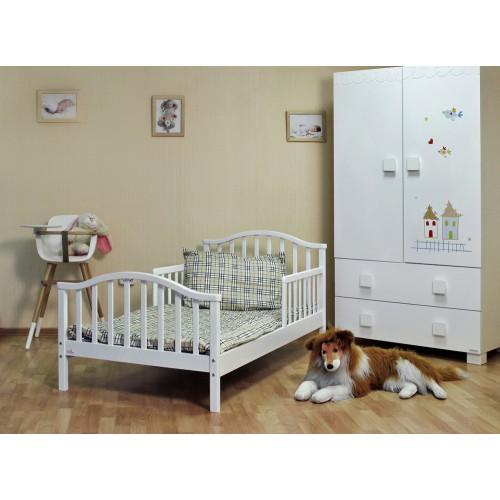 Кровать Lola (Фиореллино Лола) 160*80 white Fiorellino