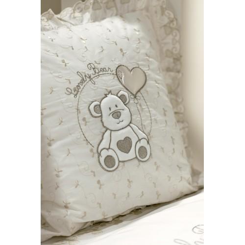Подушечка Lovely Bear (Фиореллино Лавли Бир) 40*40см крем Fiorellino
