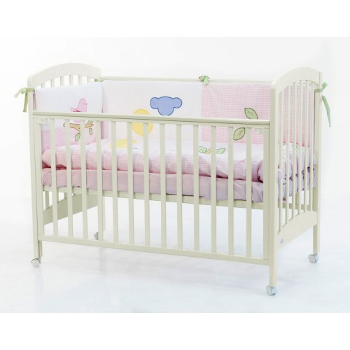 Кровать Dalmatina (Фиореллино Далматина) 120*60 ivory Fiorellino