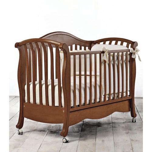 Кровать Divina (Бамболина Дивина) 125*65см орех Bambolina