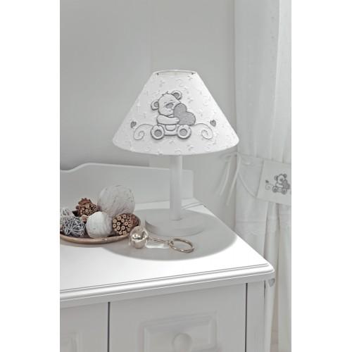 Лампа Lovely Bear (Фиореллино Лавли Бир) настольная белый Fiorellino