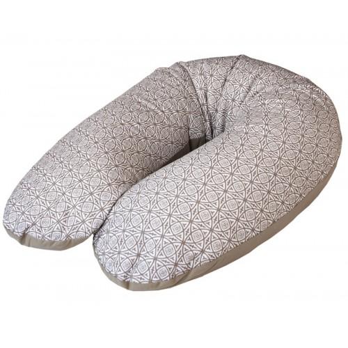 Подушка для кормления Multi трикотажная(W-741-000-514 Ornament) Ceba Baby