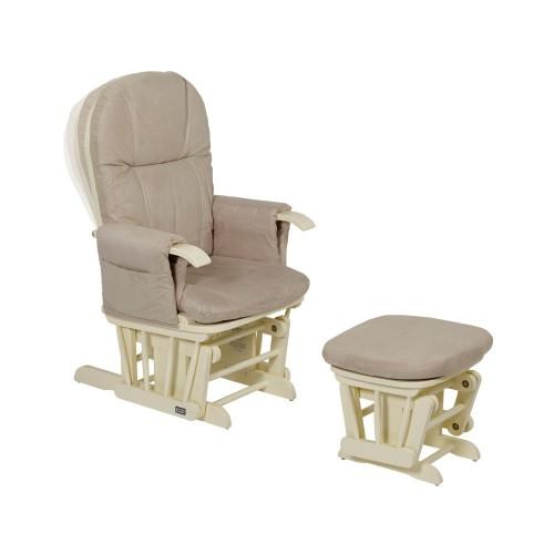 Кресло-качалка для кормления GC35(Vanilla/cream) Tutti Bambini