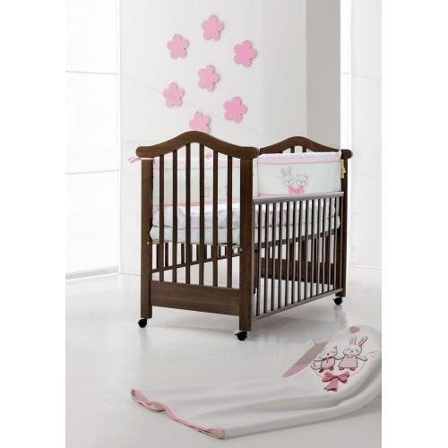 Кровать 120x60 Lily (Oreh/Орех) Фиореллино Fiorellino