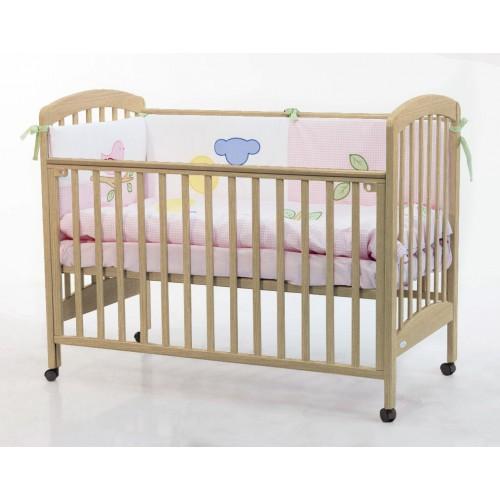 Кровать Dalmatina (Фиореллино Далматина) 120*60 natur Fiorellino