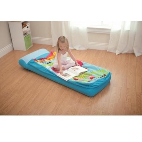 Надувной матрас-детский с покрывалом на молнии 64х152х20см Intex (Интекс)