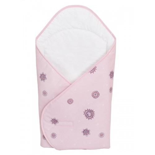Одеяло-конверт (W-810-043-130 Daisies Pink принт) Ceba Baby