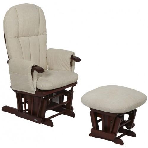 Кресло-качалка для кормления Daisy GC35(Walnut/cream) Tutti Bambini