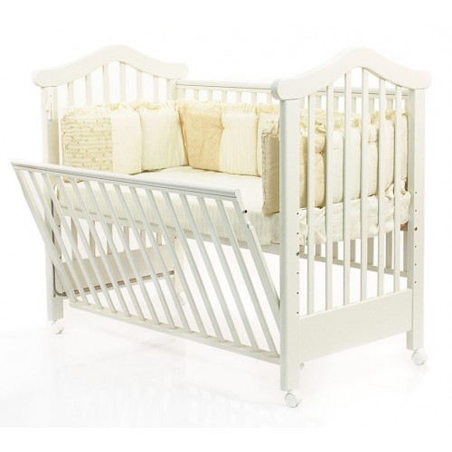 Кровать 120x60 Lily (White/Белый) Фиореллино Fiorellino