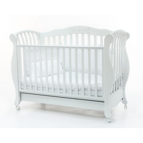 Кровать 125x65 Abbraccio Cristallo(White) BV&BV