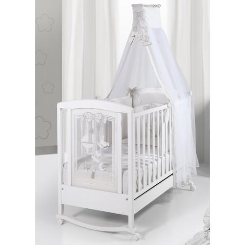 Кровать 125x65 Carillon white(White) BV&BV