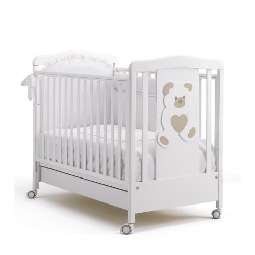 Кровать 125x65 Cuore(White) BV&BV