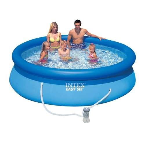 Надувной бассейн изи сет 305х76см + фильтр-насос 220в. Intex (Интекс)