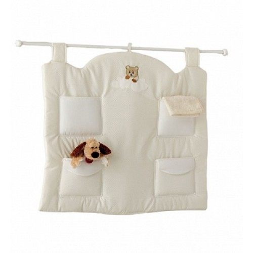 Настенный карман Abbracci-Trudi крем Baby Expert