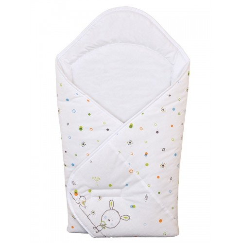 Одеяло-конверт (W-810-903-020 Dream Roll-Over White) Ceba Baby