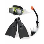 Плавательный набормаска,трубка,ласты Серфингист от 8лет Intex (Интекс)
