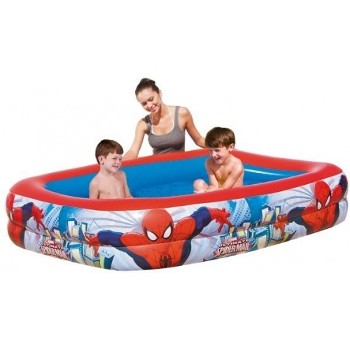 Надувной бассейн Спайдермен 201х150х51 см, 506 л Bestway (Бествей)