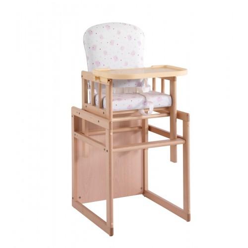 Стул-стол Микуна T-950 natural pink bears