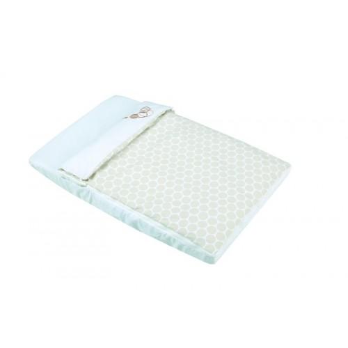 Комплект постельного белья для колыбели Cododo TX-1640(Dots Beige) Micuna (Микуна)