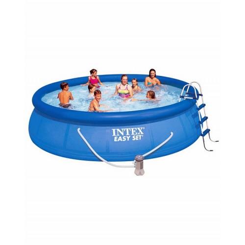 Надувной бассейн изи сет 457х107см. Intex (Интекс)