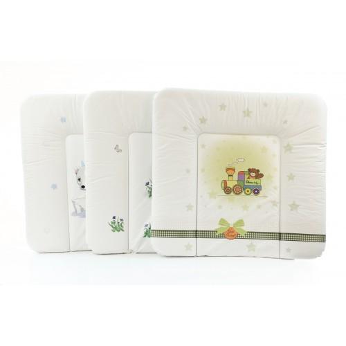 Пеленальный матрац 70x75 см Mix мягкий на комод(W-144-000-000) Ceba Baby