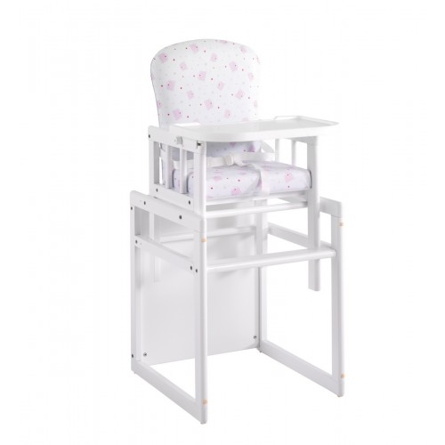 Стул-стол Микуна T-950 white pink bears