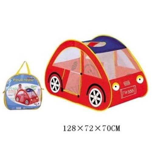 Детская игровая палатка-машинка 127х72х70 см 1TOY