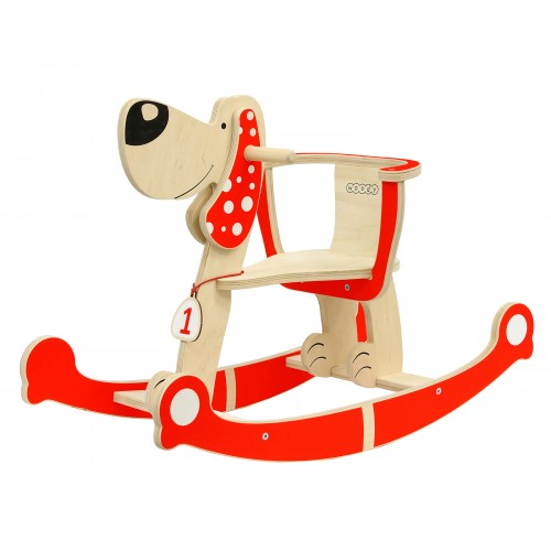 Собака-качалка WOODY