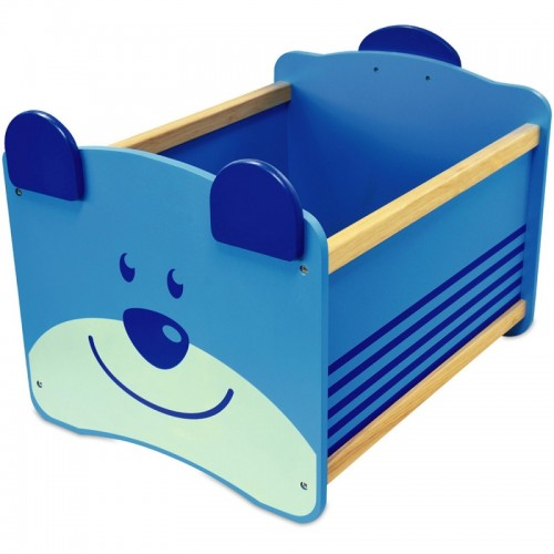 Ящик для хранения Медведь(синий) I`m Toy