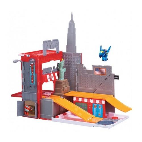 Игровой набор Джером в Нью-Йорке, Супер Крылья (Super Wings)
