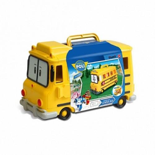 Кейс для хранения машинок Скулби (вместимость 14 машинок) Robocar Poli Silverlit 83148