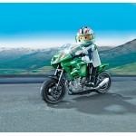 Коллекция мотоциклов: Спортивный мотоцикл Playmobil (Плеймобил)