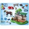 Лошади: Мойка для лошади с лошадью Playmobil 5225pm