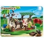 Лошади: Мойка для лошади с лошадью Playmobil (Плеймобил)