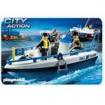 Порт: Патрульный катер Playmobil (Плеймобил)
