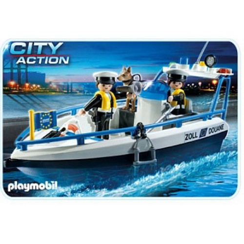 Порт: Патрульный катер Playmobil 5263pm