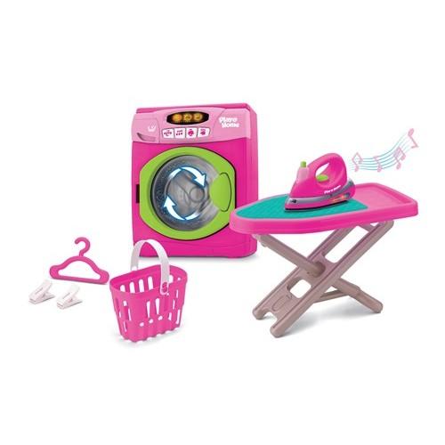 """Игровой набор """"Прачечная""""(стиральная машинка, гладильная доска, утюг, корзина для белья) (Аналог 21651) Keenway"""
