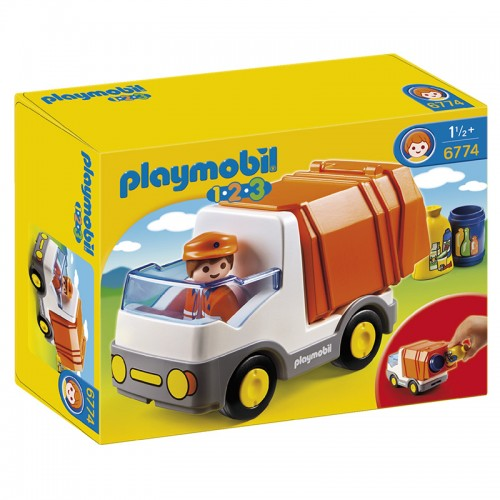 1.2.3.: Мусоровоз Playmobil (Плеймобил)
