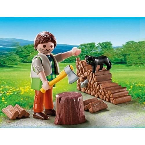 Дополнение: Лесоруб Playmobil 5412pm