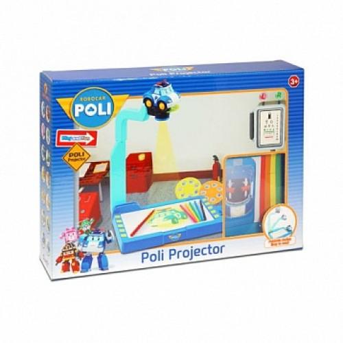 Доска для рисования с проектором Robocar Poli 83017 Silverlit
