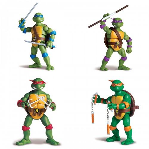 Фигурка Черепашки-ниндзя Классическая 15см в ас-те Turtles 91080