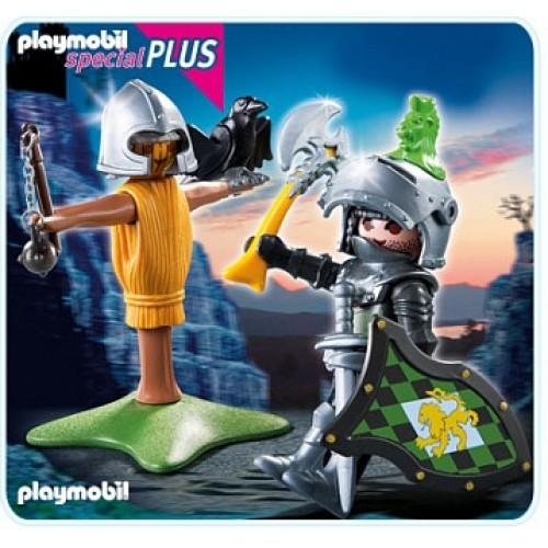 Новые фигурки: Рыцарь с тренировочным инвентарем Playmobil 4768pm