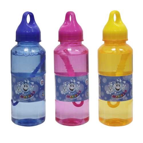 1toy Мы-шарики! мыл.пузыр., бут. 230мл. крышка с подвесом, цвета: розовый, жёлтый, голубой