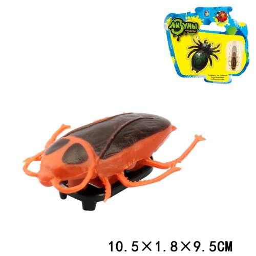 """1toy """"Мелкие пакости"""" Лизуны насекомое в асс, ползает по стенам, 7,5 см блистер"""