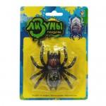 """1toy """"Мелкие пакости"""" Лизуны паук в асс. ползает по стенам, 8,5 см блистер"""